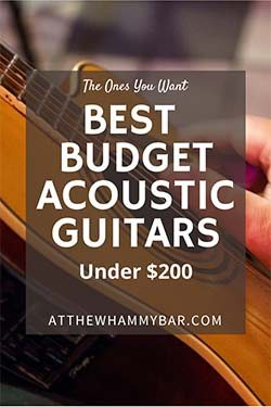 Bold Best Acoustic Guitars Under 200 - Pin