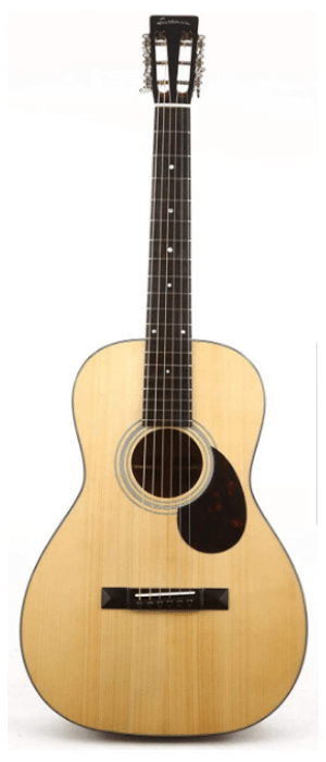 Eastman E10P Parlor Acoustic Guitar - guitar for women or men
