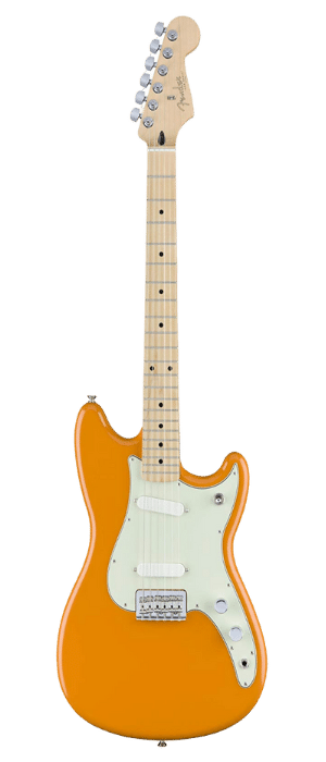 Fender Duo Sonic Electric Guitar - Maple Fingerboard - Capri Orange