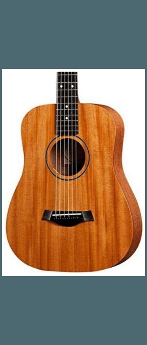 Taylor BT2 Baby Taylor Acoustic Guitar, Mahogany Top - T