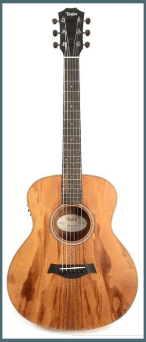 Taylor GS Mini-e Solid Koa Top ESB