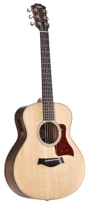 Taylor GS Mini-e Walnut and Spruce Acoustic-Electric Guitar Natural - T