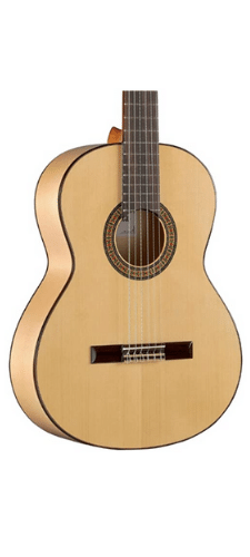 Alhambra 6 String Acoustic Flamenco Guitar - Excellent for Fingerstyle