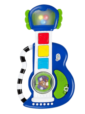 Baby Einstein Rock, Light & Roll Guitar Musical Toy - Age 3 months and up