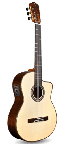 Cordoba GK Pro Negra [Gipsy Kings Signature Model] Acoustic Electric Nylon String Flamenco Guitar