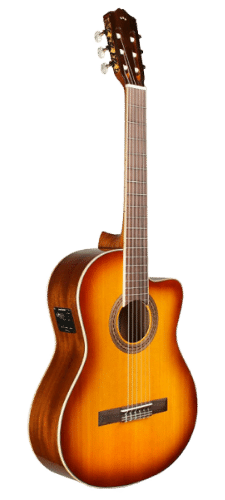 Cordoba Guitars C5-CE Sunburst Acoustic-Electric Nylon String Guitar