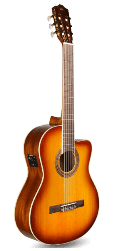 Cordoba Guitars C5-CE Sunburst Acoustic-Electric Nylon String Guitar