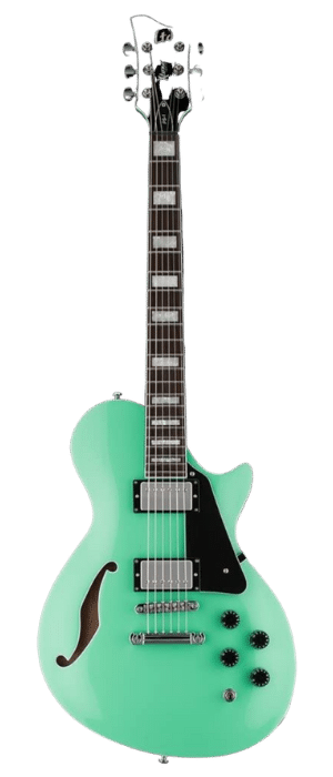 ESP LTD X-Tone PS-1 Semi-Hollowbody Electric Guitar (Sea Foam Green)