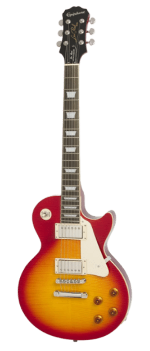 Epiphone Les Paul Standard Plus-Top PRO Electric Guitar - Heritage Cherry Sunburst - under 1000
