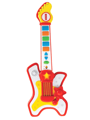 Fisher-Price Rockstar Guitar Toy for 2 year old and up