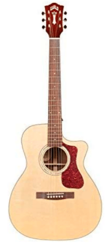 Guild OM-150CE Acoustic-Electric Guitar - Fingerplay Acoustic Guitar