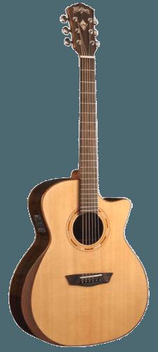 Washburn Comfort Series USM-WCG20SCE Acoustic-Electric Guitar