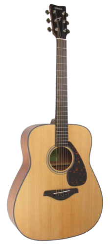 Yamaha FG800 Solid Top Folk Acoustic Guitar