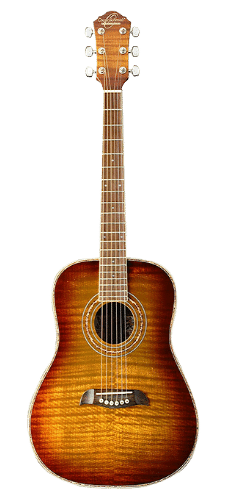 Oscar Schmidt OG1FYS-A-U 3/4 Size Dreadnought Acoustic Guitar Under 200