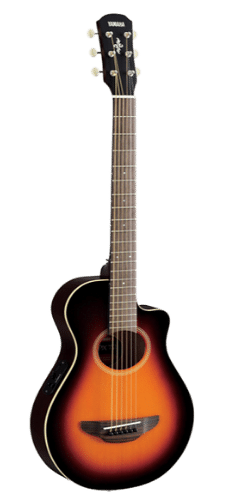 Yamaha APXT2 34 Thinline Best Acoustic-Electric Cutaway Guitar Old Violin Sunburst