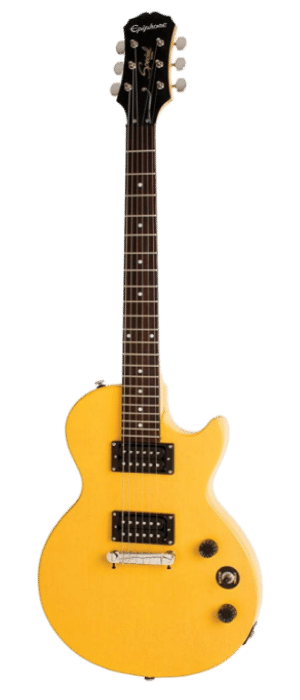 Epiphone Limited Edition Les Paul Special-I Electric Guitar Worn TV Yellow