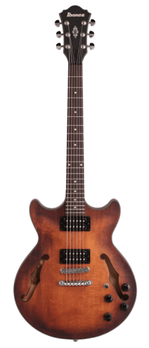 Ibanez AM73B Electric Guitar Flat Tobacco
