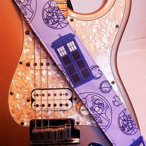 Doctor Who Inspired T.A.R.D.I.S. Police Box Guitar Strap