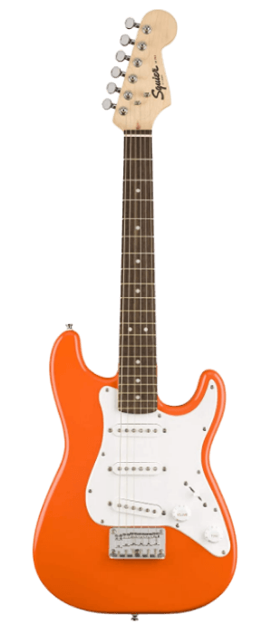 Fender Squier three-quarter Size Kids Mini Strat Best Electric Guitar for Kids - Learn-to-Play Bundle