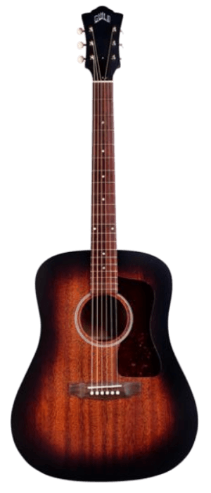 Guild USA D-20 Dreadnought Acoustic Guitar