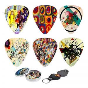 Kandinsky Abstract Art Guitar Picks