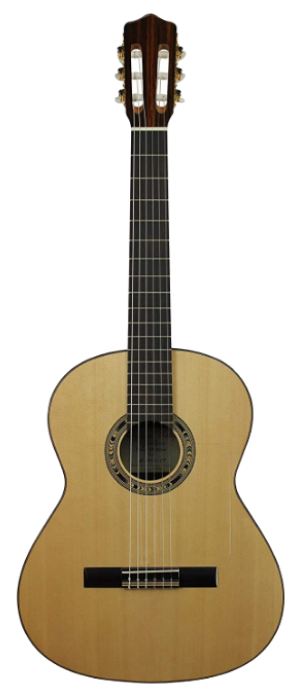Kremona 6 String Classical Guitar, Ambidextrous (Rosa Morena)