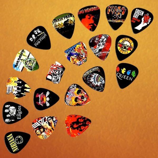 Legendary Bands Guitar Picks