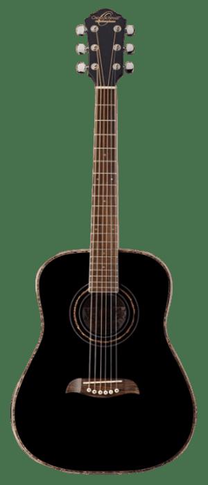 Oscar Schmidt OG1B three-quarter-Size Kids Learn-to-Play Acoustic Guitar Bundle