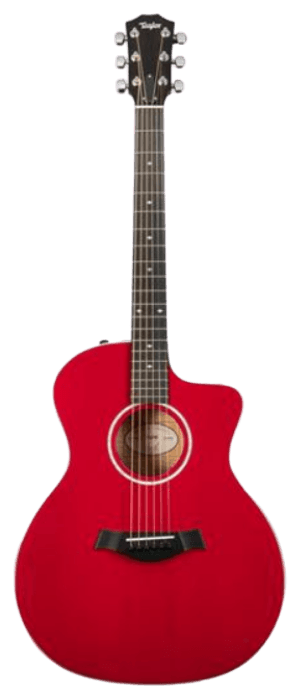 Taylor Guitars 214ce Red DLX Acoustic-Electric Guitar