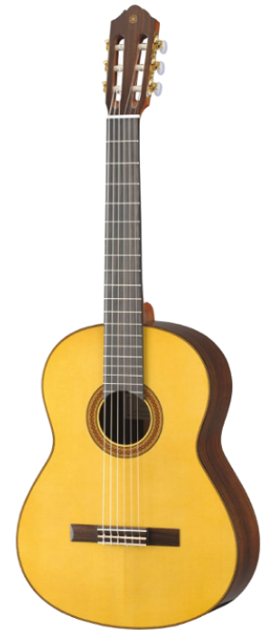 best classical guitar under 500 - Yamaha CG182S Solid Spruce Top Classical Guitar – Natural