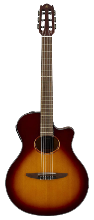 Yamaha NTX1 BS Acoustic-electric classical nylon-string guitar