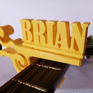 3D Personalized Guitar Capo