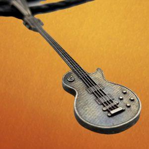 Gibson Les Paul Bass Guitar Necklace