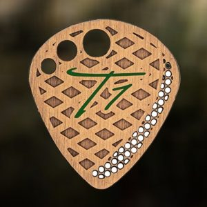 T1 Picks Stainless Steel Guitar Picks