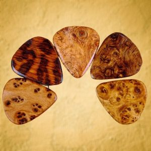 Very Rare Wood Guitar Pick