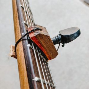 Wooden Capo for Electric Guitars